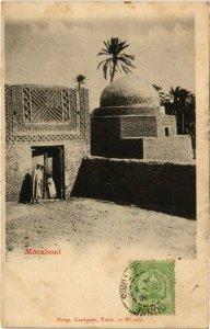 CPA AK TUNISIE Marabout (73499)