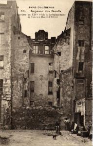CPA PARIS 5e Impasse des Boeufs. Ancien Hotel d'Albert (535511)