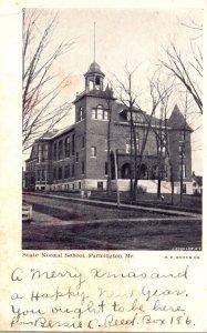 Maine Farmington State Normal School 1906