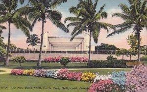 The New Band Shell Circle Park Hollywood Florida