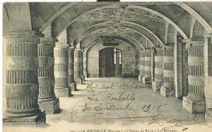 La Rochelle, L'Hotel de Ville, Les Arcades, 1914 used