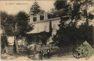 CPA Lagny Chateau de Laval FRANCE (1100600)