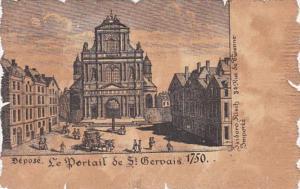 France Le Portail de St Gervais 1750 Isidoro Risch Paris