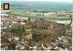 Spain, Cordoba, Air view, unused Postcard