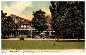 Pennsylvania Seegerstown Inn, one of the wings