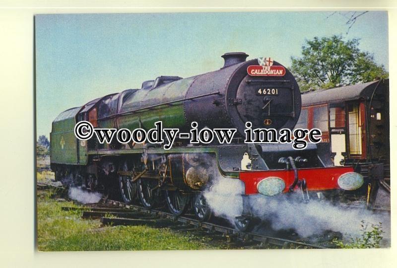 ry1007 - London Midland Scottish Railway Engine Princess Elizabeth - postcard