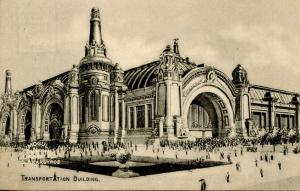 MO - St Louis. 1904 Louisiana Purchase Exposition. Transportation Building  (...