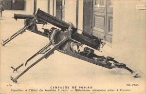 Campagne de 1914-1915 Exposition a l'Hotel des Invalides a Paris Postcard