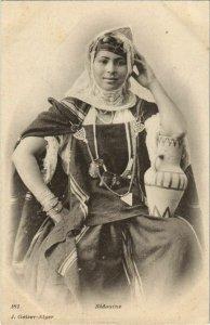 CPA AK WOMEN Bedouine - Type ALGERIE (1088570)