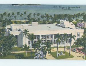 Unused Linen LIBRARY SCENE Miami Florida FL d6070
