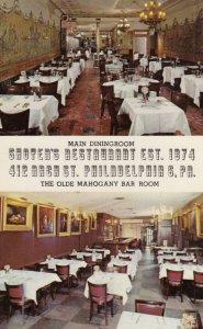 PHILADELPHIA , Pennsylvania , 1950-60s ; Shoyer's Restaurant