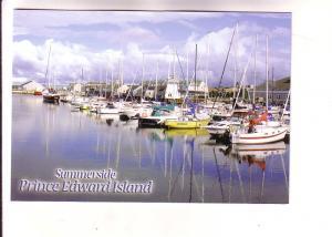 Boats at Wharf, Summerside, Prince Edward Island