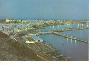 Postal 030358 : Almeria vista general de noche