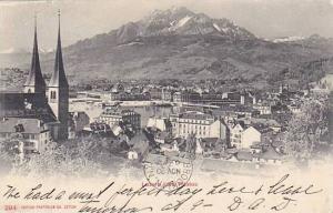Panorama, Luzern Und Pilatus, Switzerland, 1900-1910s
