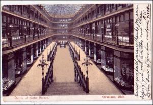 Interior of Euclid Arcade, Cleveland Ohio