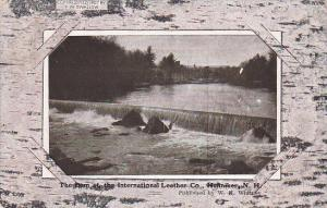 HENNIKER, New Hampshire, PU-1909; The Dam At the International Leather Co.