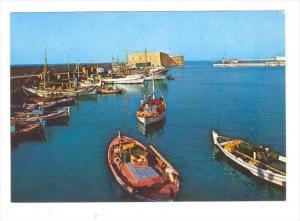 Heraklion, Il porto vecchio , Greece, 50-70s