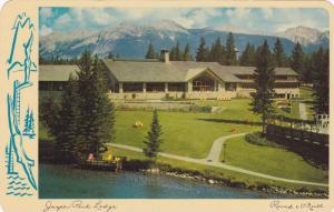 Jasper Park Lodge, Jasper, Alberta, Canada, 1961