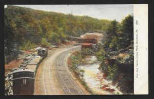 Nay Aug Tunnel Luna Park Scranton PA Unused c1910s