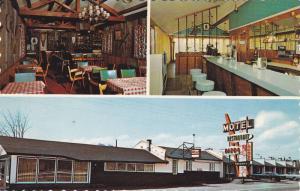 3-views,  Motel Rendez- Vous Du Lac Inc.  Route 11,  Ste-Adele,  Quebec,  Can...