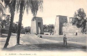 Egypt Karnak View of Karnak Promenade