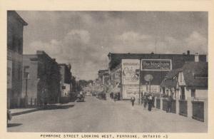 PEMBROKE , Ontario , Canada , 1930s ; PEMBROKE Street