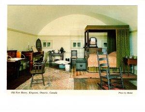 Interior, Officers' Quarters, Fort Henry, Kingston, Ontario,
