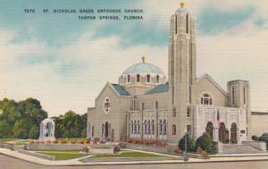 Florida Tarpon Springs St Nicholas Greek Orthodox Church 1954
