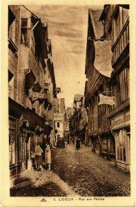 CPA Calvados LISIEUX Rue aux Févres (981957)