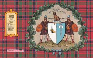 Scotland Clan Of Macgillivray Map and Coat Of Arms