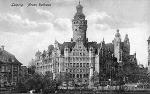 Germany - Leipzig, Nuees Rathaus (New Town Hall)