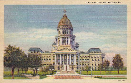 State Capitol Building Springfield Illinois