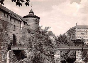 Frauentor und Grand Hotel Nurnberg Germany Unused