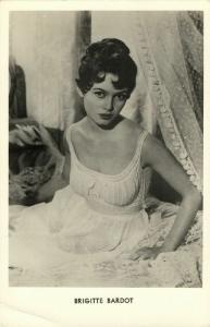 French Actress Brigitte Bardot (1960s) RPPC No. 4043