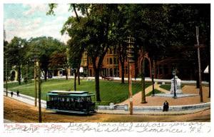 Connecticut Rockville  , Park Place , trolley