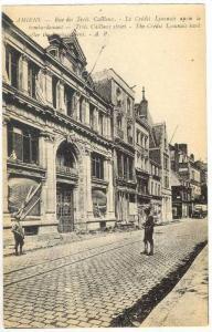 Amiens (Somme), France, 00-10s   Rue des Trois Cailloux.-Le Credit Lyonnais