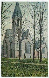 Addison, New York, Vintage Postcard View of The Presbyterian Church