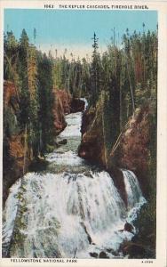The Kepler Cascades Firehole River Yellowstone National Park