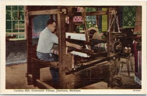 Greenfield Village - Carding Mill     Dearborn Michigan postcard