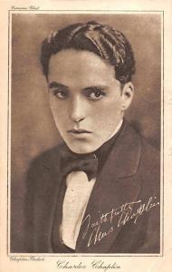 Famous Comic Actor: Charlie Chaplin, Cinema Chat, Postcard