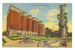 Stevens Hotel, Chicago, Illinois, 30-40s