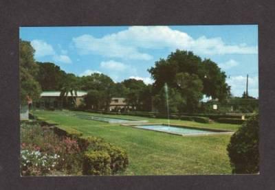 FL View of Venetian Gardens LEESBURG FLORIDA POSTCARD