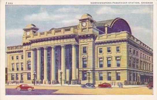 Illinois Chicago Northwestern Passenger Station