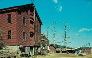 USA Mystic Seaport a Living Maritime Museum In Mystic Connecticut 04.30