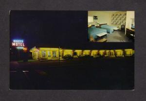 ON TKnott's Knotts Motel Niagara Falls Ontario Canada Carte Postale Postcard