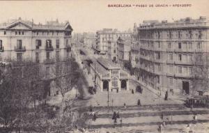 BARCELONA, Paseo de Garcia - Apeadero, Cataluna, Spain, 00-10s