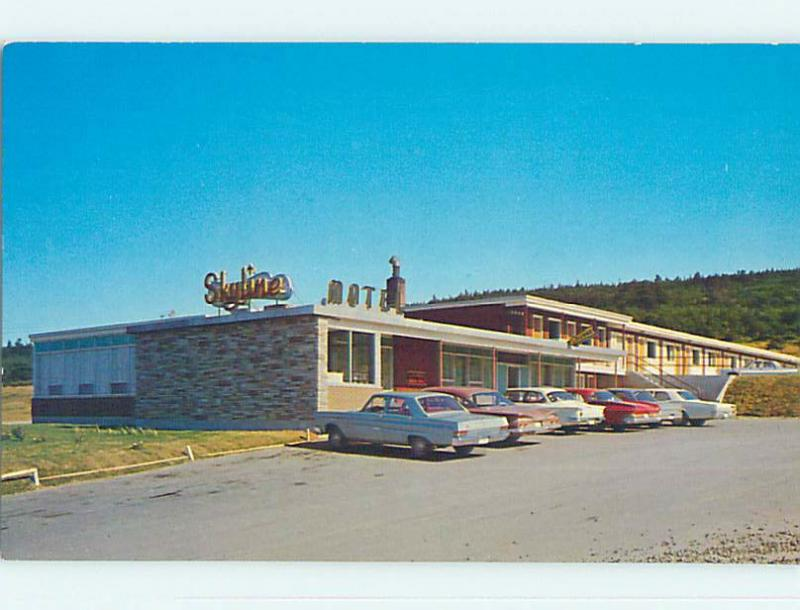 Unused Pre-1980 SKYLINE MOTEL St. Saint John's Newfoundland NL o0275