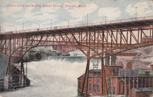 SPOKANE, Washington, 1900-1910s; Lower Falls And Monroe Street Birdge