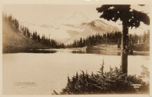 RP, MT BAKER National Forest , Washington , 10-30s: Mt. Baker & Chain Lake