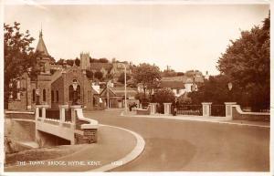 Kent, Hythe, The Town Bridge Pont 1956